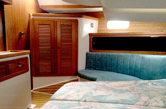 Aft Stateroom starboard seat