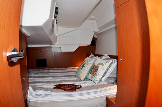 Aft Double Berth